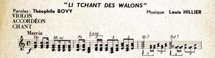 Frontispice du Chant des Wallons