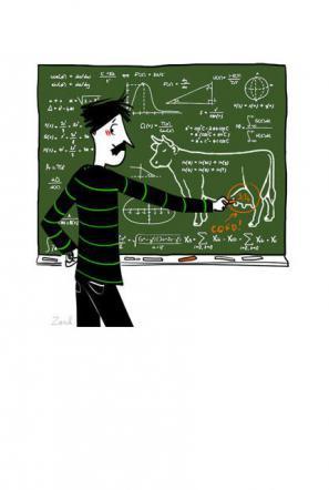 Dictée sur les maths