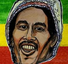 La légende Bob Marley