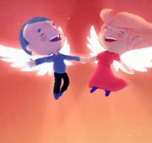 Les amoureux (B1), interprété par Aldebert et Claire Keim