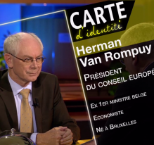 Herman Van Rompuy, président du Conseil européen (2009-2014)