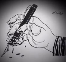 Portrait du caricaturiste Ali Ferzat