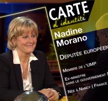 Nadine Morano, députée européenne et ex-ministre du gouvernement Sarkozy