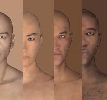 Les couleurs de peaux