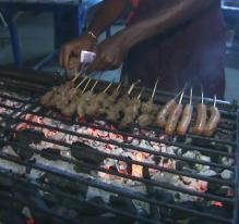Au fast food (Togo)