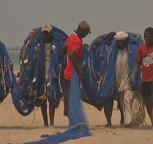 La pêche traditionnelle (Togo)