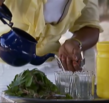 Le thé (Sénégal)
