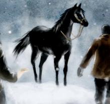 Le cheval noir
