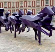 Le carrosse, de Xavier Veilhan