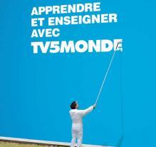 Les médias font leur pub - TV5MONDE aime la langue française (multimédia)