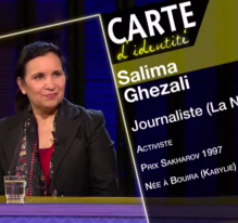 Salima Ghezali : le métier de journaliste
