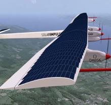 Un avion solaire