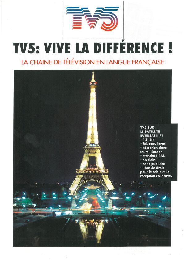Affiche - Tour Eiffel - 1994