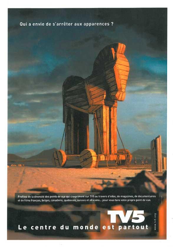 Affiche - Cheval de Troie - 2004
