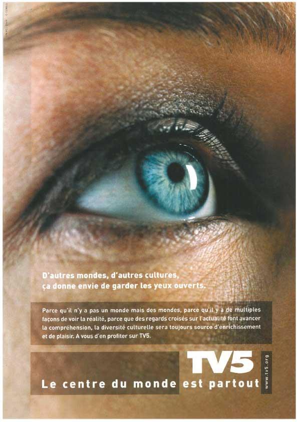 Affiche - Œil ouvert - 2004