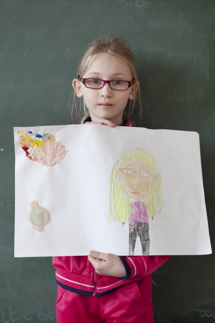L'autoportrait d'Anastasia
