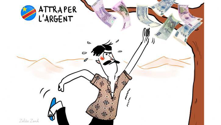 Attraper l'argent