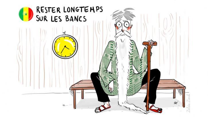 Rester longtemps sur les bancs