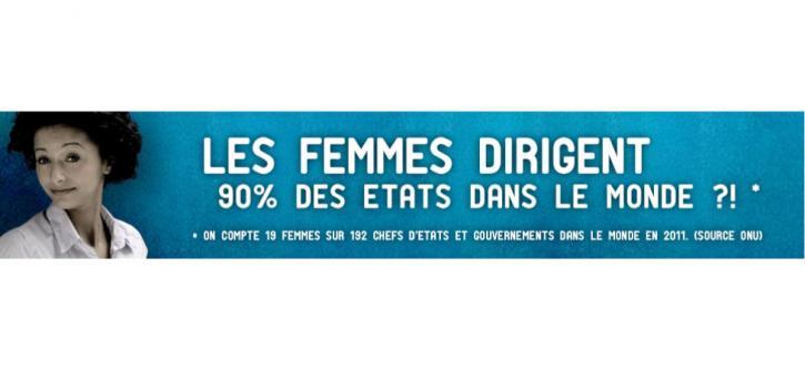 Les femmes dirigent 90 % des États dans le monde ?!