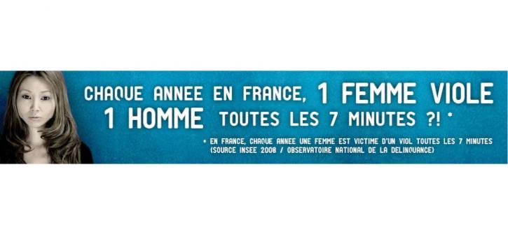 Chaque année en France, 1 femme viole 1 homme toutes les 7 minutes ?!