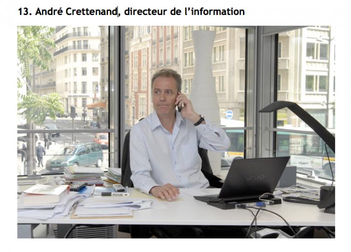 Directeur de l'information