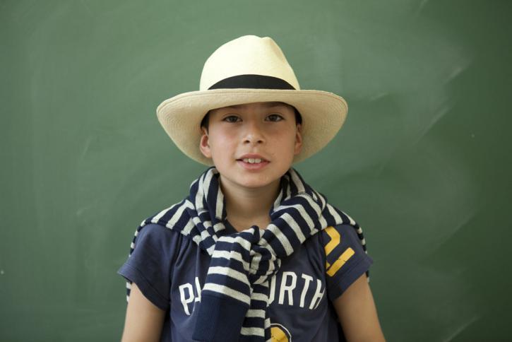 Le chapeau de Léo
