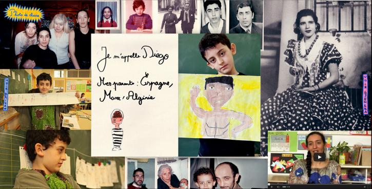 La page personnelle de Diego