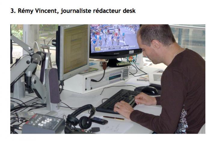 Journaliste rédacteur desk