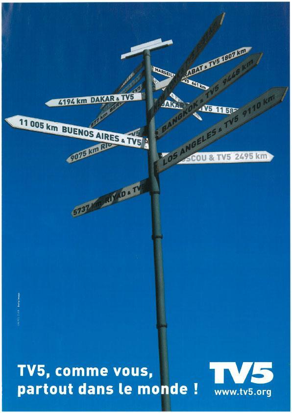 Affiche - Destinations - 2002