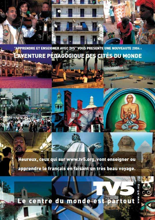 Affiche - Cités du monde - 2004