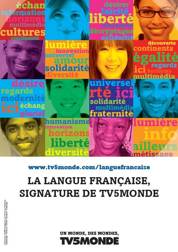 Affiche - Langue française - 2011
