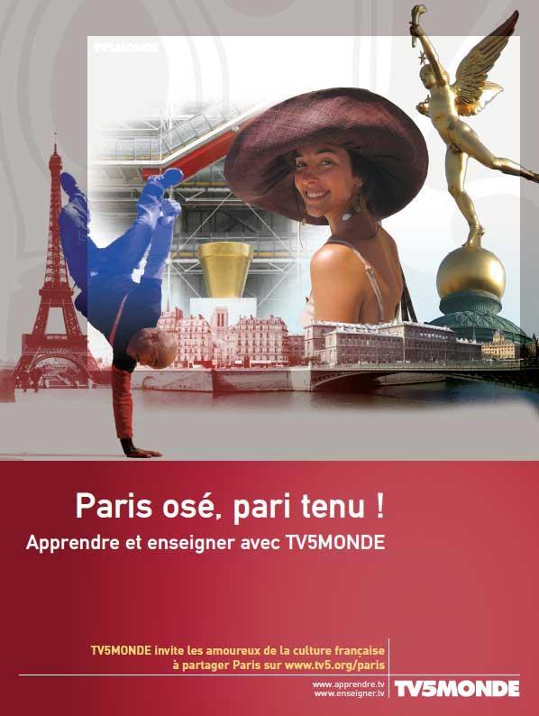 L'affiche - Paris osé, pari tenu - 2006
