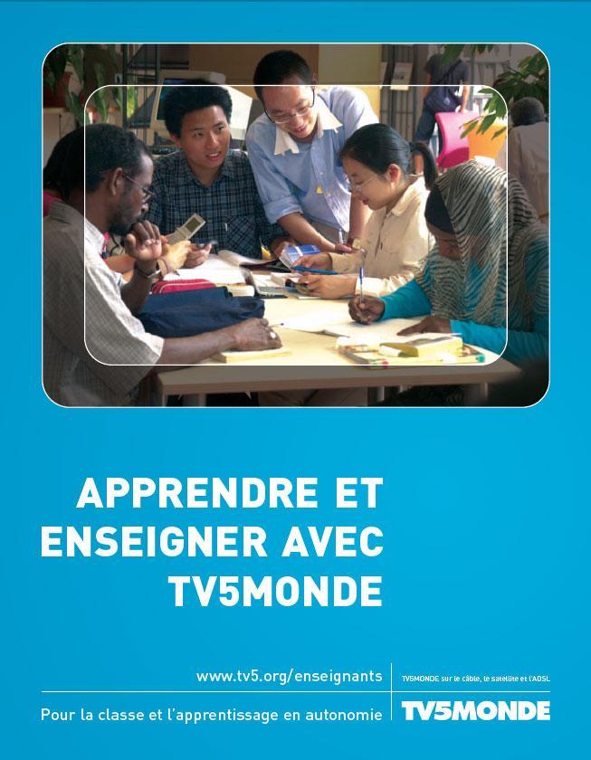 La couverture de la brochure Apprendre et enseigner - 2007