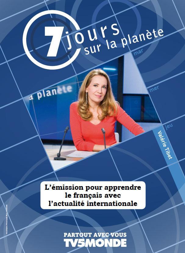L'affiche - 7 jours sur la planète - 2011
