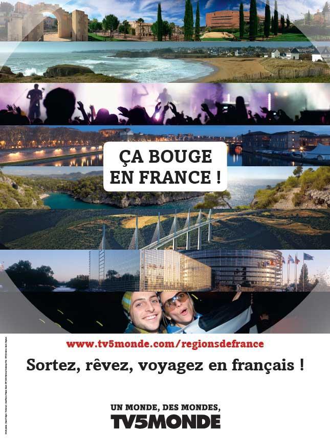 L'affiche - Ça bouge en France - 2011