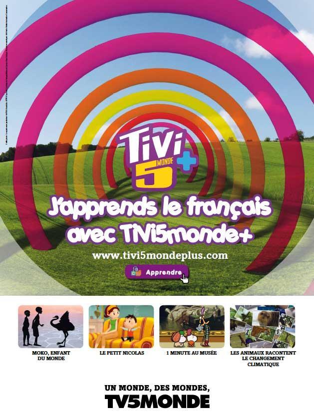 L'affiche - TiVi5Monde+ - 2012