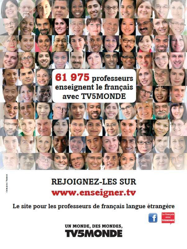 L'affiche - Visages profs - 2012