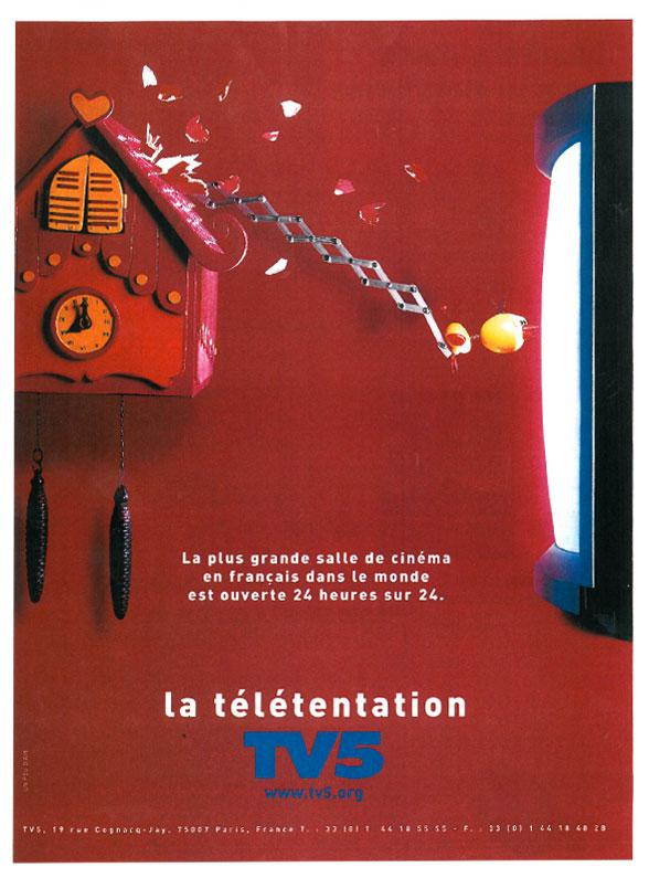 Affiche - Coucou - 2000