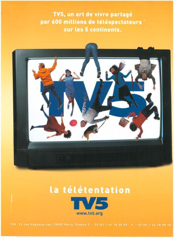 Affiche - Télé - 2001