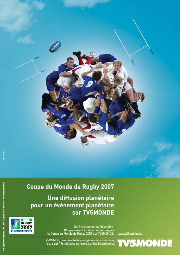 Affiche - Rugby - 2007