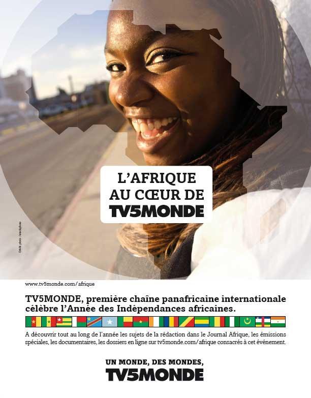 Affiche - Visage Afrique - 2009