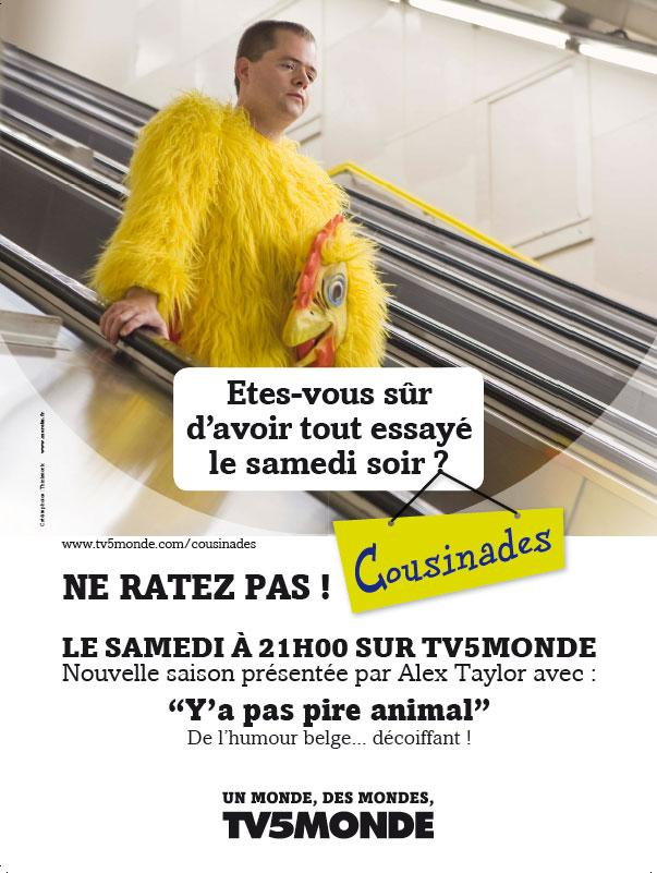 Affiche - Cousinades - 2012