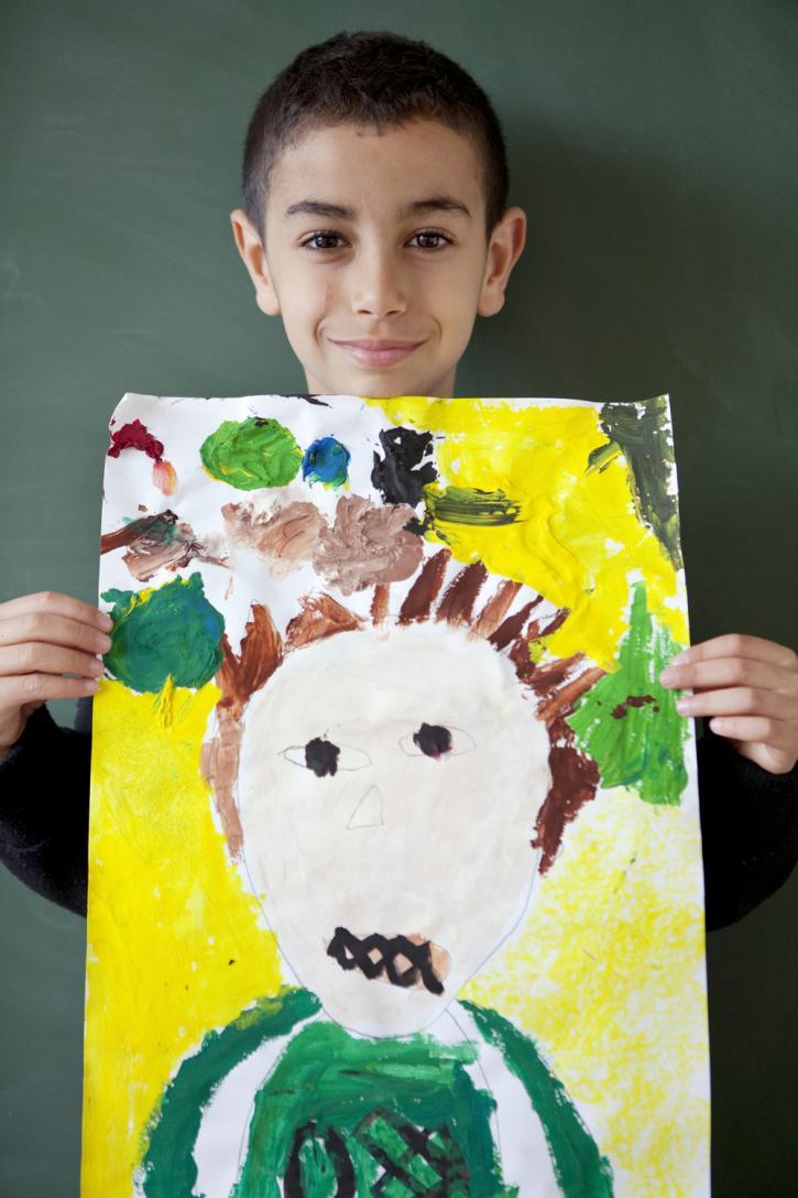 L'autoportrait de Walid