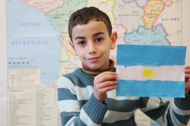 Le drapeau de Walid