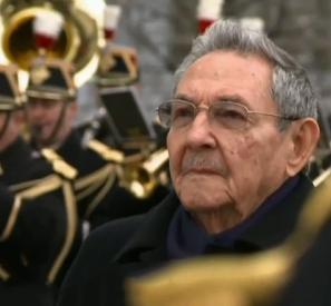Raul Castro à Paris
