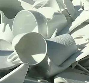 Une seconde vie pour la porcelaine