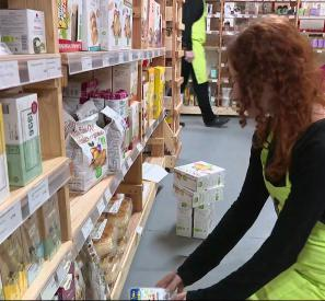 Un supermarché pas comme les autres