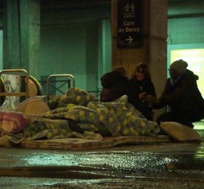Sans-abri: une nuit de recensement