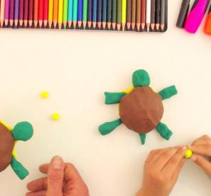 Les tutos de Léo : sculpter une tortue