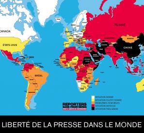 Reporters sans frontières pour la liberté de l'information